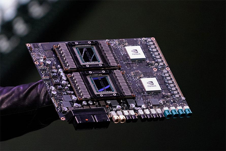 NVIDIAが2018年初頭に発表したレベル5自動運転向けコンピュータ「DRIVE Pegasus(ドライブ・ペガサス)」