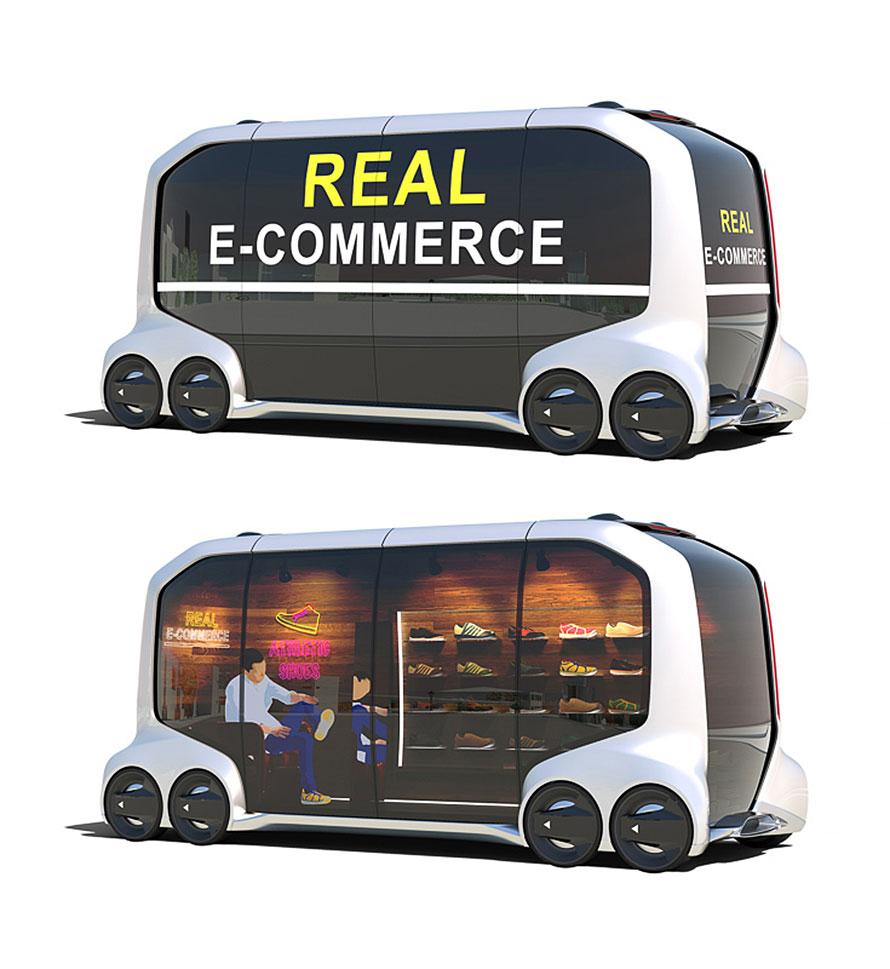 将来的には、お店のほうからやってきて、無人で決済まで終わる、そんな時代になるかもしれない