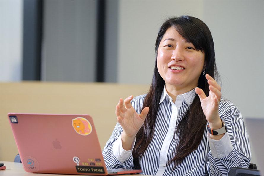 JapanTaxi株式会社 取締役 常務執行役員/CMO 金 高恩氏