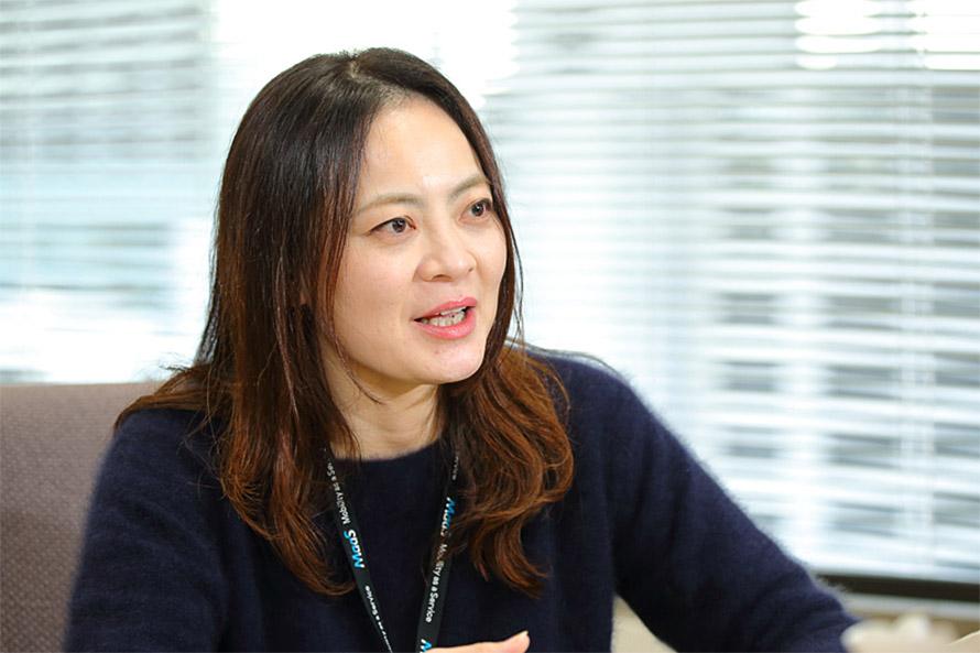 トヨタ自動車株式会社 コネクティッドカンパニー MaaS事業部 モビリティサービス事業室 松本佐織さん