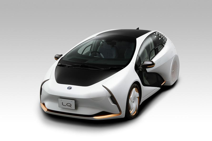 自動運転やAIを盛り込んだコンセプトカー「LQ」。新しい移動体験をもたらす「新時代の愛車」をイメージした