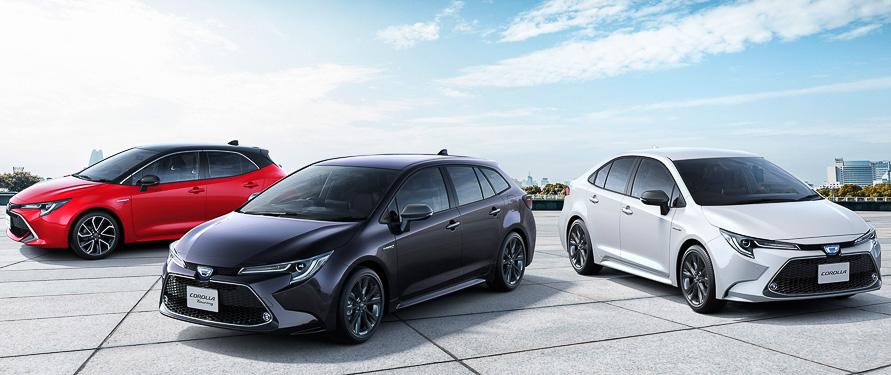 2019年の新型カローラシリーズでディスプレイオーディオを国内トヨタブランドとして初めて搭載した