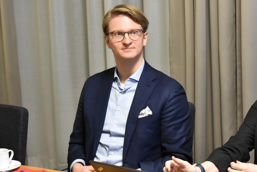 フィンランド運輸通信省 専門官のアルテ・イスコラ氏