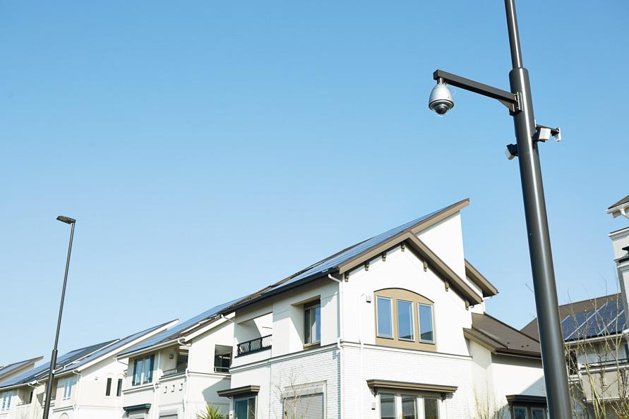 街に設置されている「見守りカメラ」の映像はポータルサイトから閲覧できるようになっている