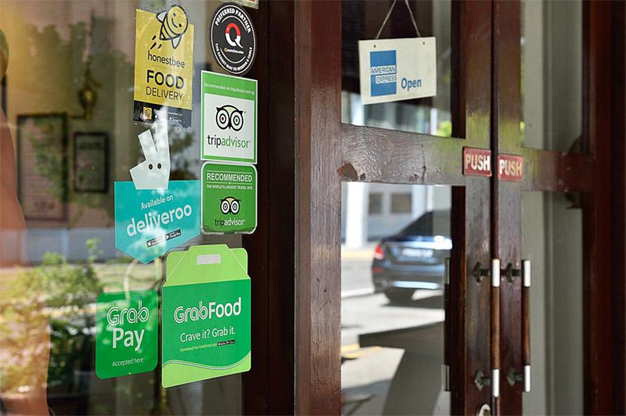 レストランなどでもGrab Payを利用して支払うことが可能に