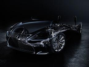 レクサス、デトロイトモーターショーで新型LSを世界初公開