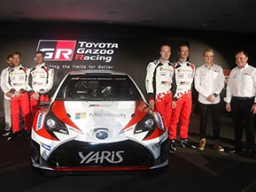 TOYOTA GAZOO Racing、WRC参戦体制を発表