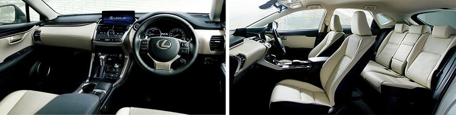 "NX300h AWD ""version L""(インテリアカラー : リッチクリーム)<オプション装着車>"