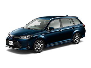トヨタ、カローラフィールダーならびにカローラアクシオをマイナーチェンジ  ― インテリジェントクリアランスソナー(パーキングサポートブレーキ)を新設定、Toyota Safety Sense Cを全車標準装備し予防安全装備を充実 ―