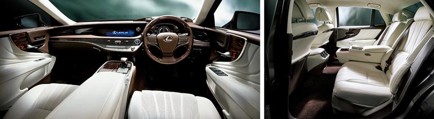 "LS500h ""version L""(インテリアカラー:ホワイト)<オプション装着車>"