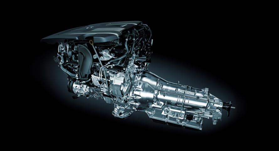 V型6気筒3.5ℓツインターボエンジン+Direct Shift-10AT