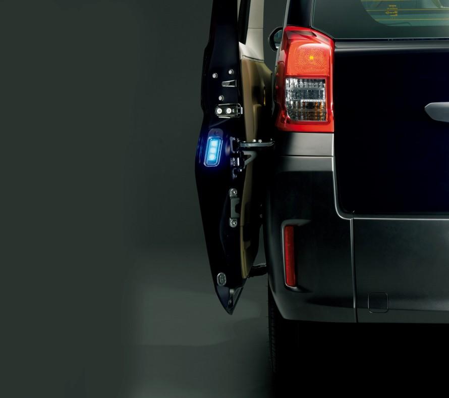 ドアオープンランプ