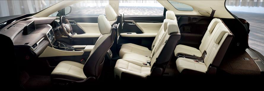 RX450hL(インテリアカラー:リッチクリーム)<オプション装着車>