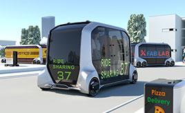 """トヨタ自動車、モビリティサービス専用EV""""e-Palette Concept""""をCESで発表"""