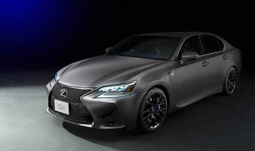 "GS F特別仕様車""F 10th Anniversary"""