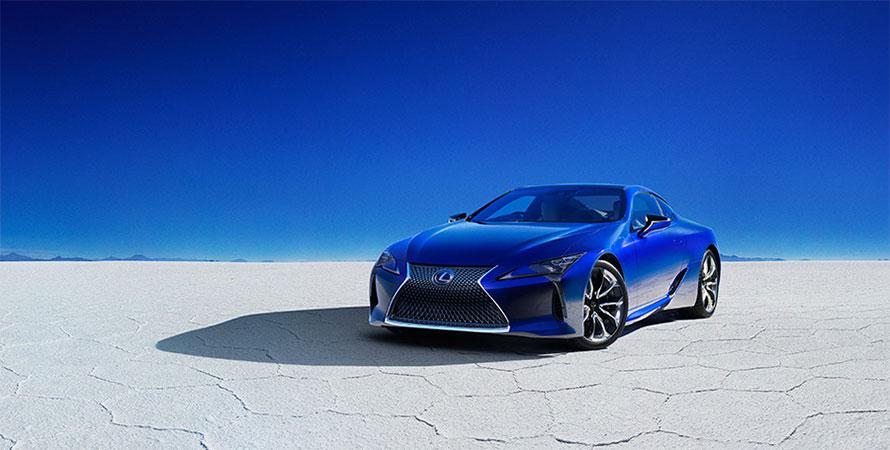 """LC500h特別仕様車""""Structural Blue"""""""