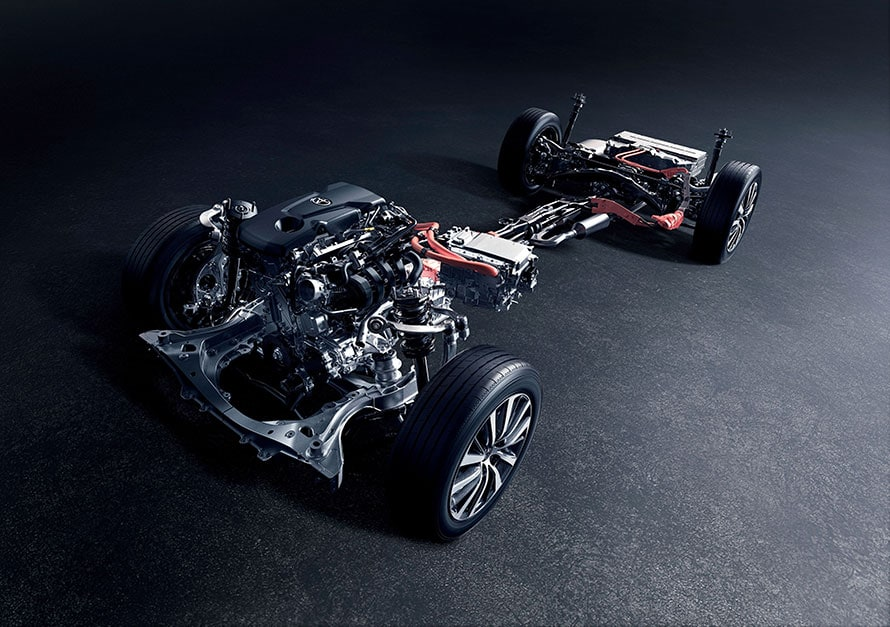 2.5L A25A-FXS ENGINE+MOTOR・2WD/4WD