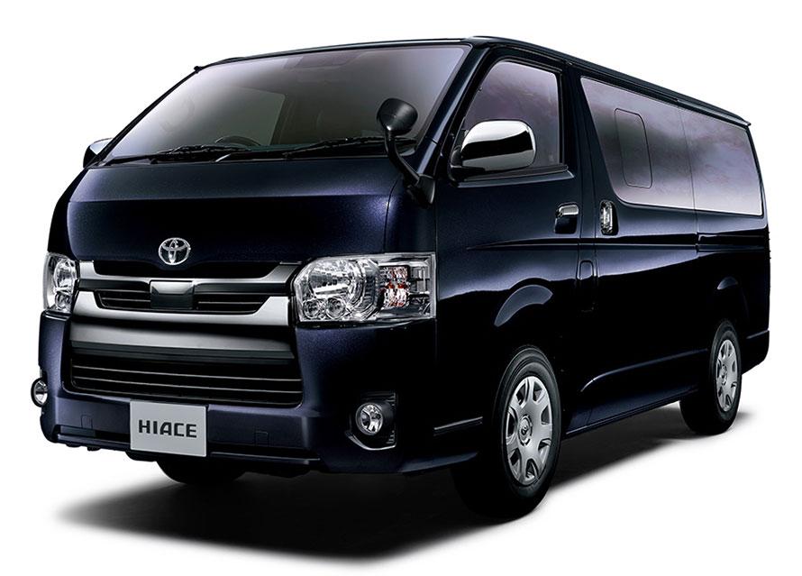 """ハイエース 特別仕様車 スーパーGL""""DARK PRIMEⅡ""""(2WD・2800ディーゼル・標準ボディ)<オプション装着車>"""