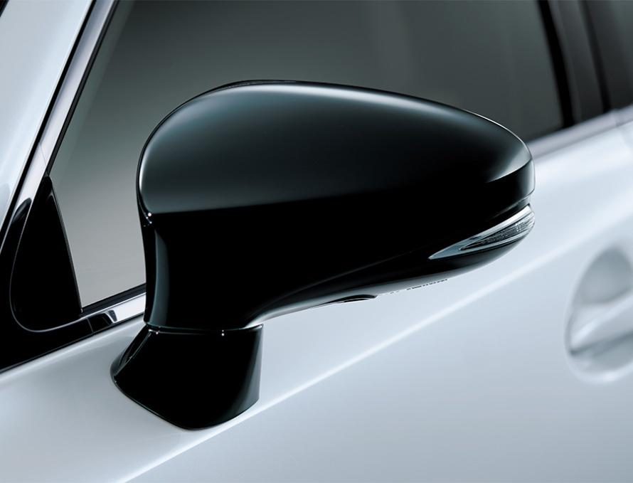 オート電動格納式ドアミラー (特別仕様車専用ブラック塗装)