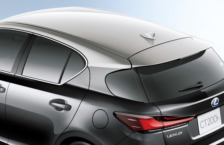 ソニックチタニウムルーフ&グラファイトブラックガラスフレーク〈2PZ〉 (特別仕様車専用) ※メーカーオプション