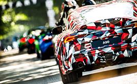 トヨタ、北米国際自動車ショーで新型「スープラ」を世界初披露