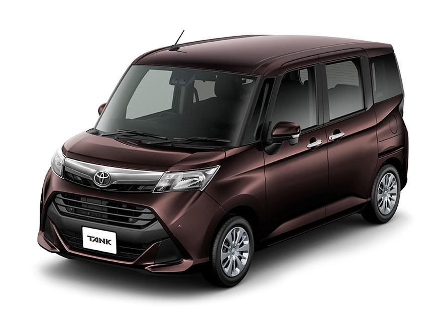 """タンク 特別仕様車G""""Cozy Edition""""(2WD)<オプション装着車>"""