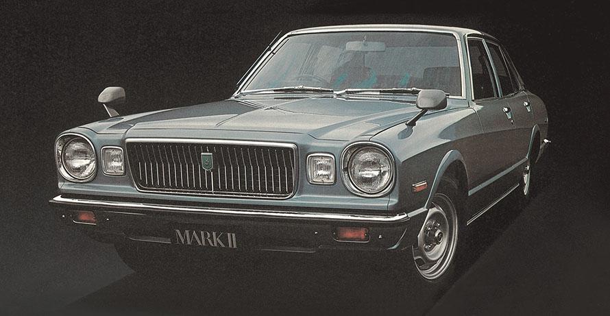 3代目 1976年(コロナマークⅡ)