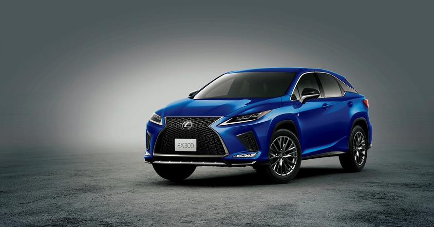"RX300""F SPORT"" (ヒートブルーコントラストレイヤリング)<オプション装着車>"