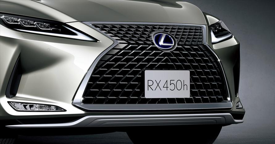 "RX450h""version L"" (ソニックチタニウム)<オプション装着車>"