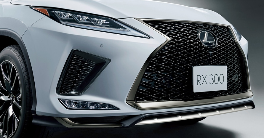 "RX300""F SPORT"" (ホワイトノーヴァガラスフレーク)<オプション装着車>"