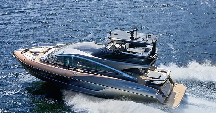 LEXUS、ラグジュアリーヨット「LY650」を世界初披露