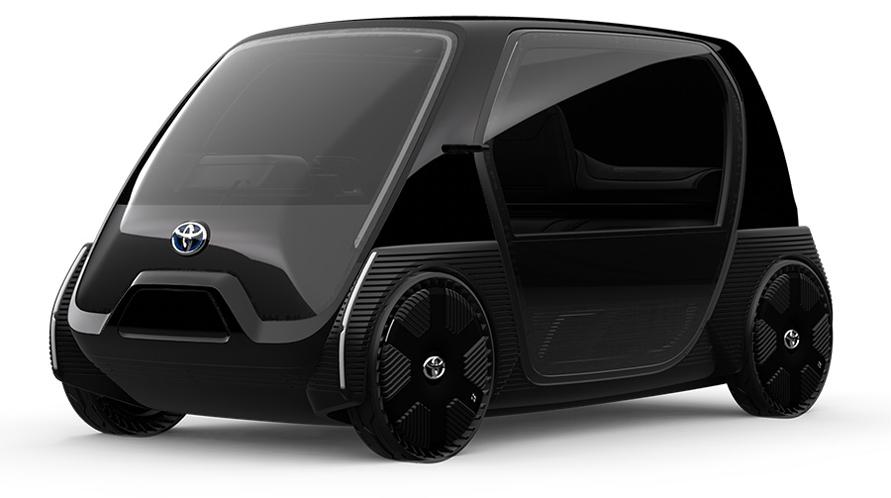 超小型EV ビジネス向けコンセプトモデル