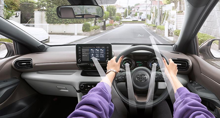 運転席(見通しのいい視界と最適なレイアウト)