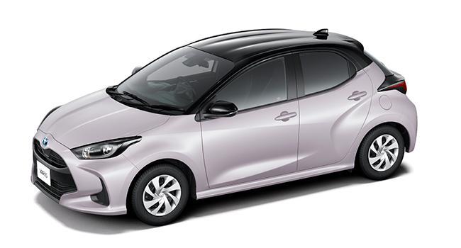 HYBRID G(2WD)(ブラック×アイスピンクメタリック)<オプション装着車>