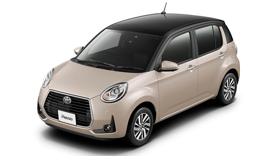 """特別仕様車 MODA""""Charm""""(2WD)(ブラックマイカメタリック×パウダリーベージュメタリック)<オプション装着車>"""