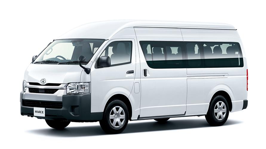 コミューター DX(スーパーロング・ワイドボディ・2WD・ディーゼル車)(ホワイト)<オプション装着車>
