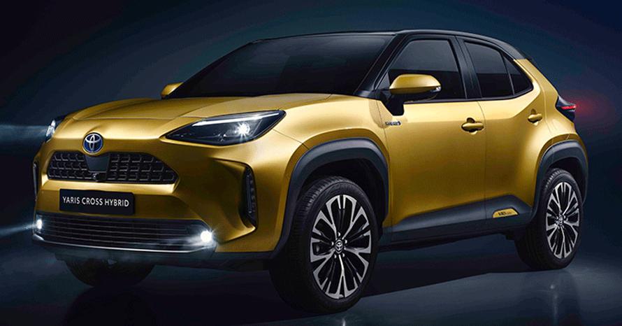 TOYOTA、新型車ヤリスクロスを世界初公開