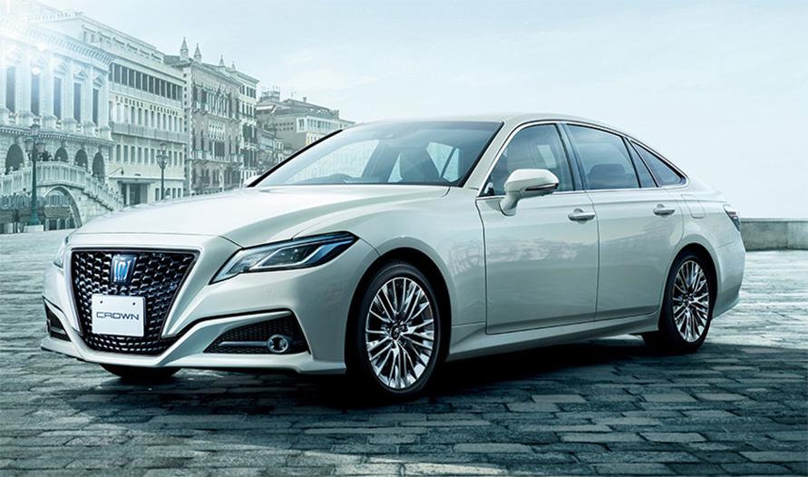 """(2)クラウン 特別仕様車 S""""Elegance Style Ⅱ""""(2.5Lハイブリッド車)<オプション装着車>"""