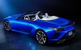 """LC500 Convertible特別仕様車""Structural Blue""(ストラクチュラルブルー)"
