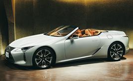 "LEXUS、「LC500 Convertible」を新設定-特別仕様車「LC500 Convertible""Structural Blue""」を限定発売するとともに、「LC」を一部改良-"
