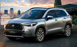 TOYOTA、カローラシリーズに「力強さ」と「機能性」を兼ね備えた新型コンパクトSUV「カローラ クロス」を追加、タイで世界初公開-COROLLA MEETS SUV-