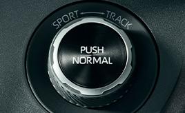 4WDモードセレクトスイッチ(NORMAL/SPORT/TRACK)